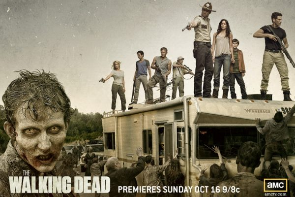 A Poster of The Walking Dead