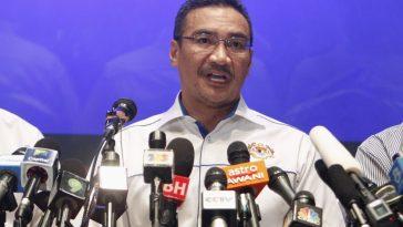 Malaysian Transportation Minister Hishammuddin Hussein.