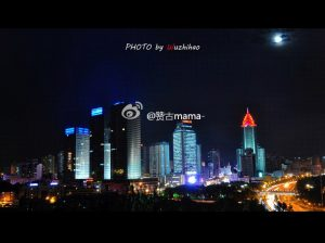 The view of a Xinjiang City.