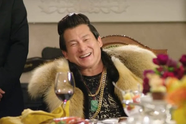 """Chinese """"tuhao"""" (nouveau riche) as portrayed in Korean TV dramas."""