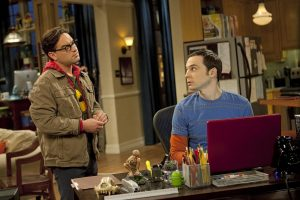 Leonard and Sheldon, The Big Bang Theory.