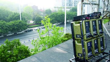 Wenzhou residents purchase loudspeaker system to fight noisy public plaza dancers.