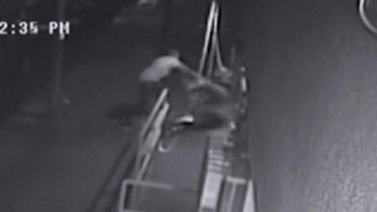 Old Chinese Man Ruan Wenhui beaten to death by Jamie Pugh in East Village Manhattan New York City.