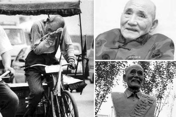 Chinese pedicap driver Bai Fangli, spent 10 years of his life earning money to put poor children through school.