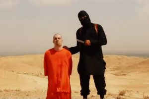 James Foley ISIS beheading video.
