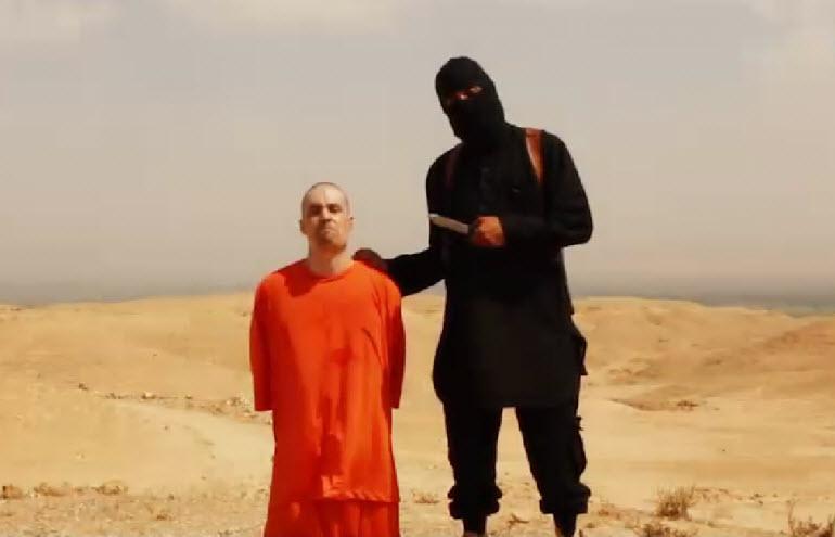 James Foley ISIS beheading video.