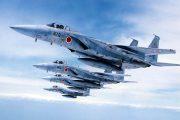 Japanese F-15 fighter jets.