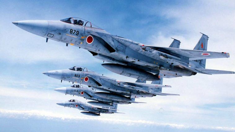 Japanese F-15 fighter jets.