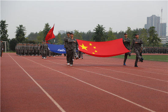 chinese-principle-in-black-audi-inspects-students-in-military-parade-02