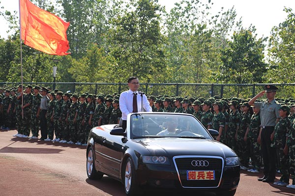 chinese-principle-in-black-audi-inspects-students-in-military-parade-05