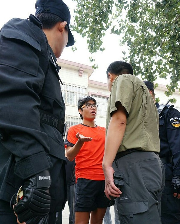 Man with Imperial Japanese Rising Sun T-Shirt Attacked in