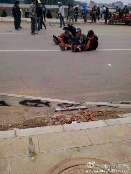 Yunnan-villagers-burn-to-death-forced-demolition-crew-11