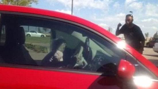 Man confronts panhandler after catching her driving a nice car