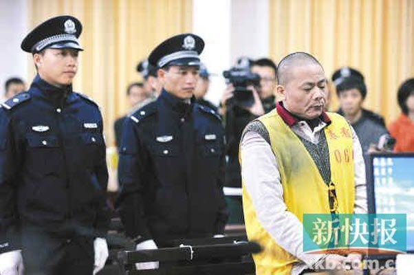 Huang Guang, a grandfather who beat to death his grandson's kidnapper.