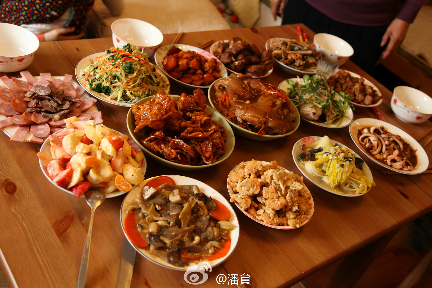 example chinese new years eve dinner dishes - Chinese New Year Dinner