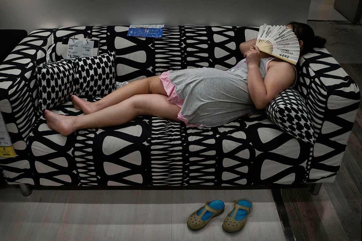 IKEA Bans Showroom Sleeping