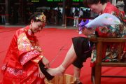 Mother's Day in Hangzhou- Wash Your Mother-In-Law's Feet
