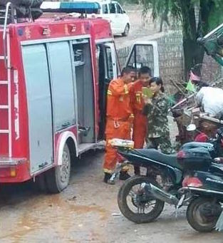 Netizens Angry After Rescue Workers Spotted Taking Selfies
