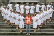 Nursing School Photos Go Viral, Netizens Envy Male Classmate