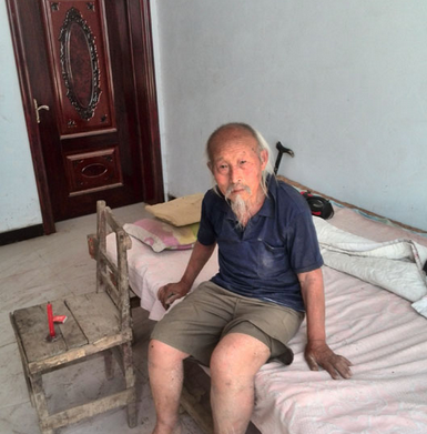 103-Year-Old Beggar Discovered in Zhengzhou, Story Goes Viral