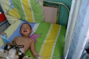 Child Accompanying Street-Sweeping Grandparents Loses Leg
