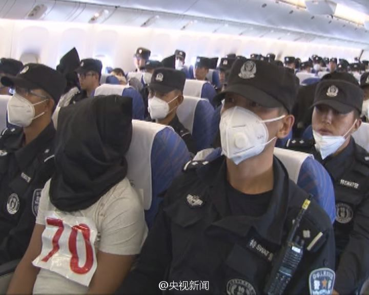 Chinese Police Repatriate Overseas Jihadists To Face The Law