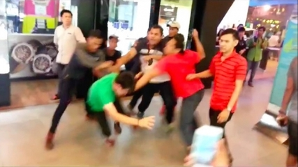 Ethnic Chinese Brawl With Malays After Online Rumors Incite Tension