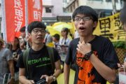 HK Student Demonstrators Go On Trial For Obstructing Police