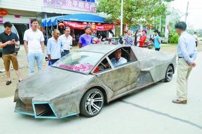 "Man Finally Realizes Dream of Owning a ""Lamborghini"""