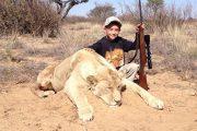 Netizens Condemn Hunter's Son Shooting Lion