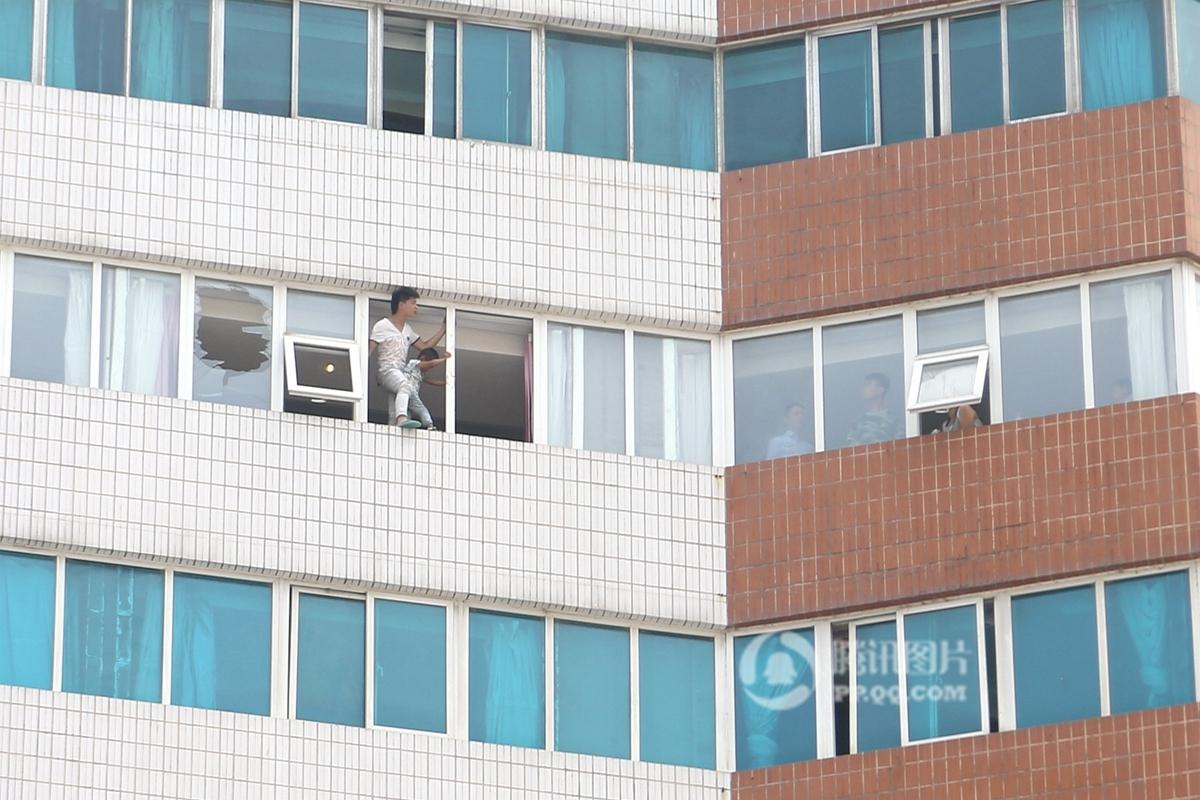 Paternity Test Results In 21st Floor Suicide Attempt