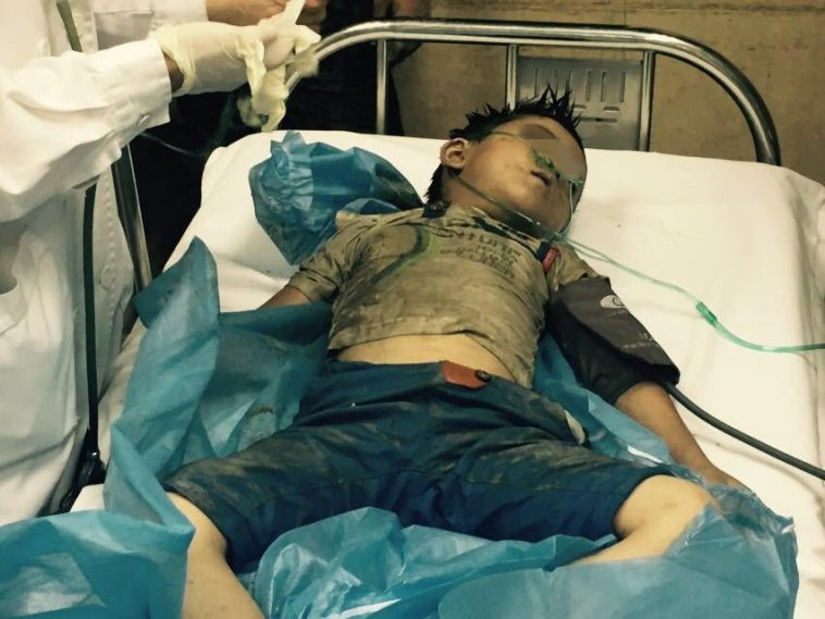 Shanghai Boy Dies After Falling Into a Sewer