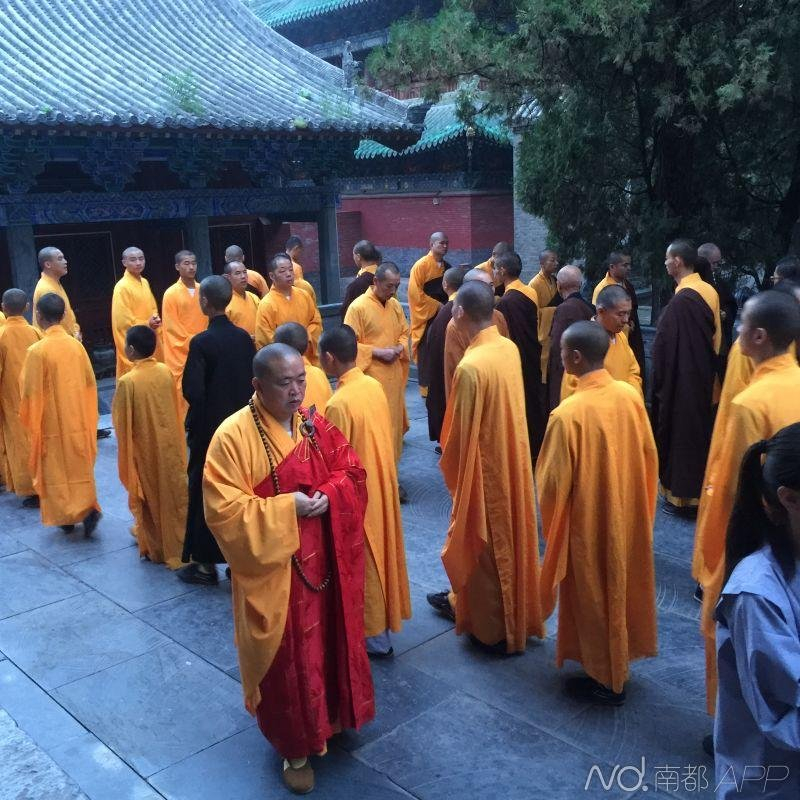 Shaolin Abbot Prays For Tianjin Explosion Victims