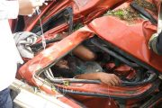 Driver Sacrifices Self To Save Son As Truck Crashes