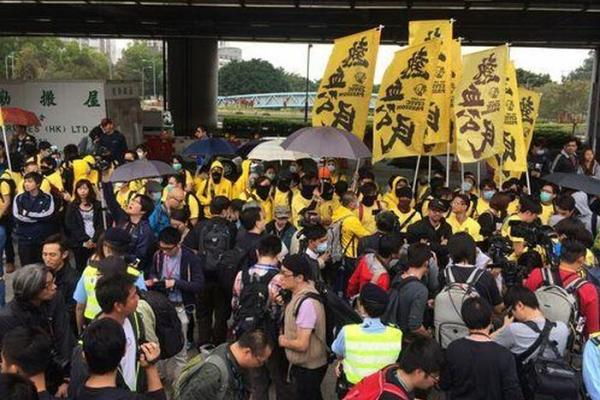 """Hong Kong Holds Another Protest Over """"Parallel Traders"""""""