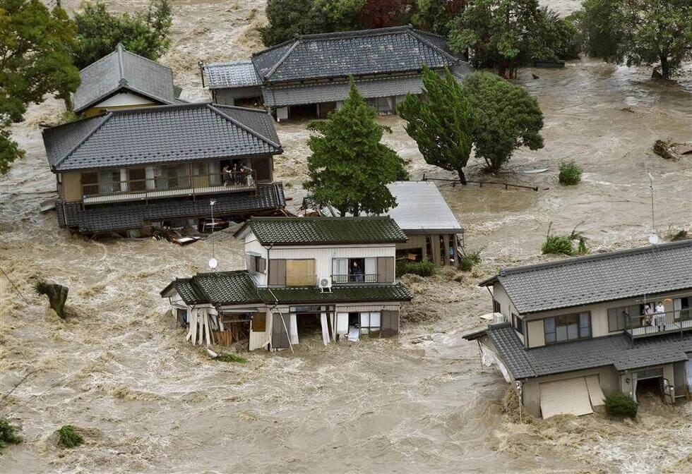 Japanese Dam Breaks, 170,000 Affected, Chinese Reactions