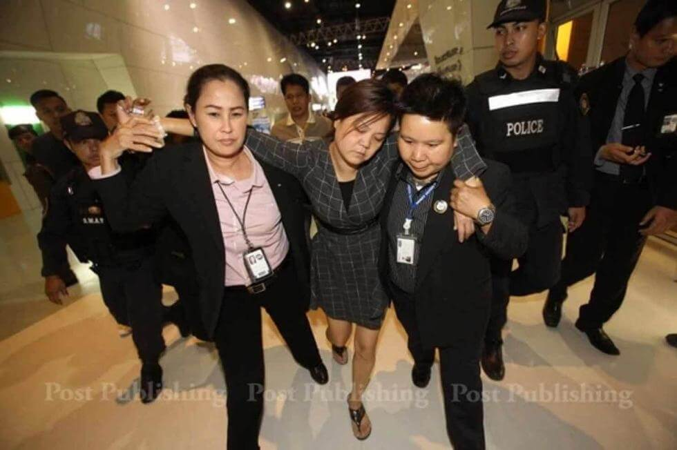 Chinese Woman Swallows Diamond In Bangkok